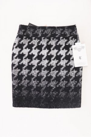 your cameo Knitted Skirt black viscose