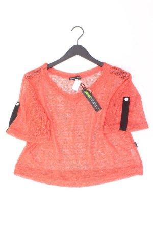 Your Cameo Strickshirt Größe 50 neu mit Etikett Kurzarm orange aus Viskose