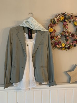 your & self Blazer in jersey argento Cotone
