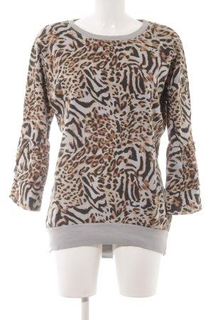 your & self Sweatshirt Animalmuster Casual-Look