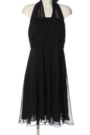 your Sixth sense  c&a Sukienka z dekoltem typu halter czarny W stylu casual