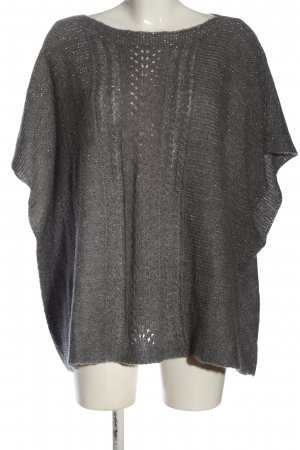 your Sixth sense  c&a Knitted Poncho light grey casual look