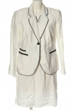 your Sixth sense  c&a Woven Twin Set white business style