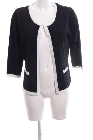 Your Sixth Sense Cardigan schwarz-weiß Casual-Look
