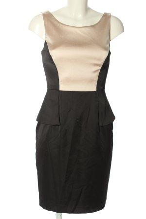 Your Sixth Sense Schößchenkleid schwarz-creme Elegant