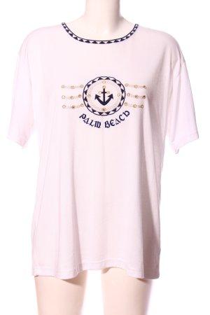 Your Sixth Sense T-Shirt pink-blau Motivdruck Casual-Look