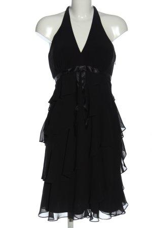 Your Sixth Sense Volantkleid schwarz Elegant