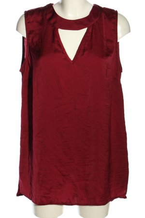 Yours Long-Bluse rot Casual-Look