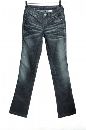 Youth against lables Boot Cut Jeans blue casual look