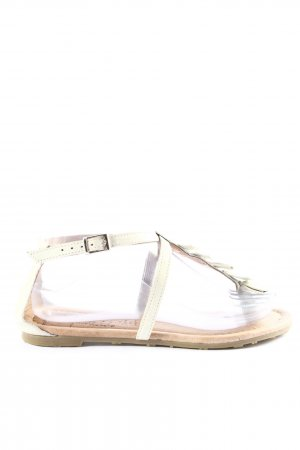 Youth against lables Dianette Sandals natural white casual look