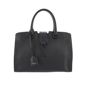 YSL Baby Downtown Cabas Leather Handbag