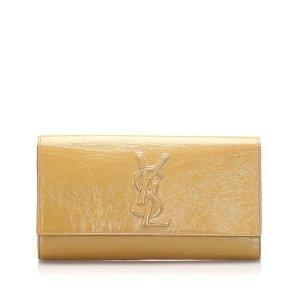 YSL Belle de Jour Patent Leather Clutch Bag