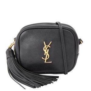 YSL Blogger Leather Crossbody Bag