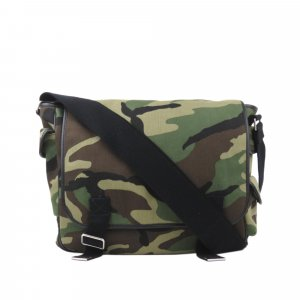 YSL Camouflage Messenger Bag