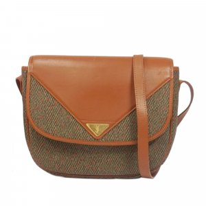 YSL Canvas Crossbody Bag