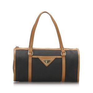 YSL Canvas Shoulder Bag