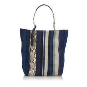 YSL Canvas Tote Bag