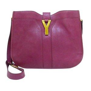 YSL Chyc Ligne Leather Crossbody Bag