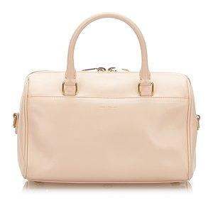 Yves Saint Laurent Sacoche rose clair cuir