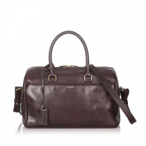 YSL Classic Baby Leather Duffle