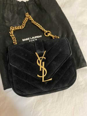 Yves Saint Laurent College Bag black