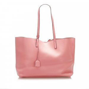 Yves Saint Laurent Tote pink leather