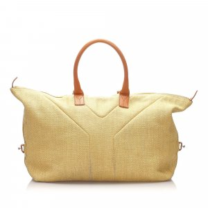 Yves Saint Laurent Travel Bag beige