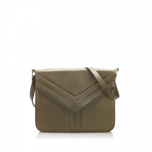 YSL Easy Y Leather Shoulder Bag