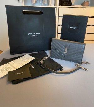 Ysl Envelope/grau Silber
