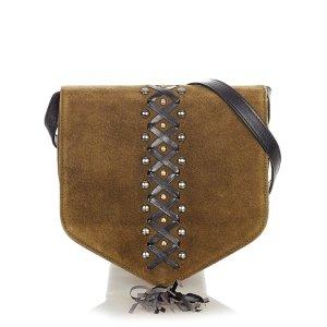 YSL Fringe Suede Crossbody Bag