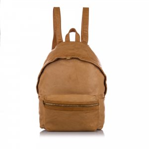 YSL Hunting Leather Backpack