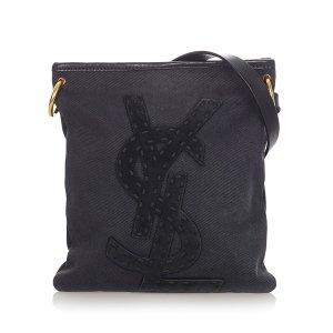 YSL Kahala Canvas Crossbody Bag