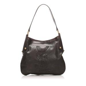 YSL Kahala Leather Shoulder Bag