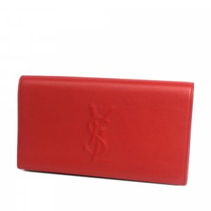 YSL Leather Belle de Jour Clutch Bag