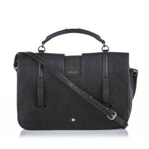YSL Leather Charlotte Satchel
