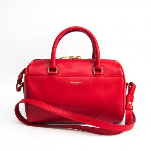 YSL Leather Classic Baby Duffle