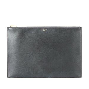YSL Leather Clutch Bag