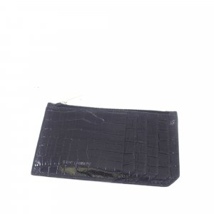Yves Saint Laurent Wallet black leather