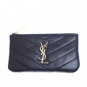 YSL Leather Coin Pouch