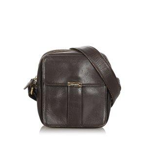 YSL Leather Crossbody Bag