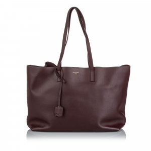 Yves Saint Laurent Tote brown leather