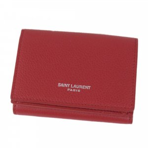 YSL Leather Small Wallet