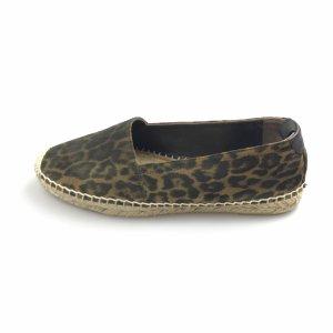 YSL Leopard Espadrilles
