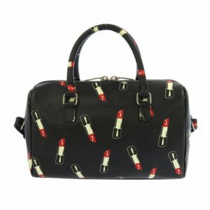 YSL Lipstick Leather Satchel