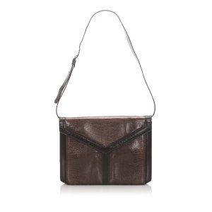 YSL Lizard Leather Shoulder Bag