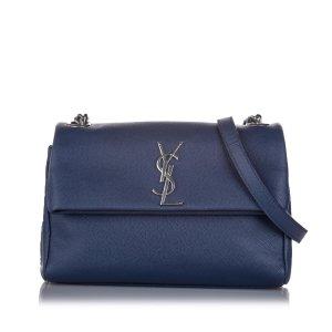 YSL Medium West Hollywood Leather Crossbody Bag