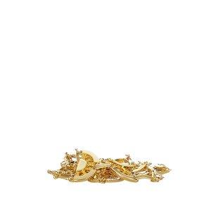 Yves Saint Laurent Pasek złoto Metal