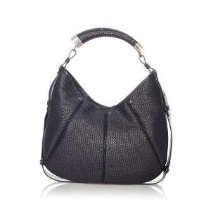 YSL Mombasa Leather Hobo Bag