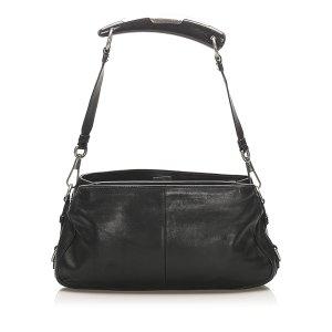 YSL Mombasa Leather Shoulder Bag
