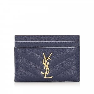 YSL Monogram Card Holder